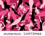 vector of pink seamless sexy... | Shutterstock .eps vector #1149739466