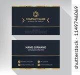 business model name card luxury ... | Shutterstock .eps vector #1149746069