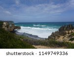 scenic beach in kauai  hawaii.... | Shutterstock . vector #1149749336