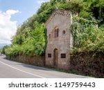 ancient small catholic church ...   Shutterstock . vector #1149759443