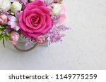 beautiful flowers on white... | Shutterstock . vector #1149775259