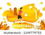 vector illustration   sporty... | Shutterstock .eps vector #1149779753