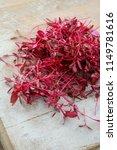 fresh micro herbs   Shutterstock . vector #1149781616