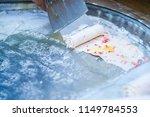 thai ice cream preparation | Shutterstock . vector #1149784553