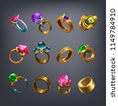 set of fantasy jewelry...