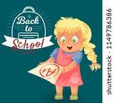 back to school poster | Shutterstock .eps vector #1149786386