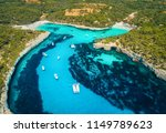 aerial view of boats  luxury... | Shutterstock . vector #1149789623