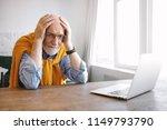 horizontal shot of frustrated...   Shutterstock . vector #1149793790