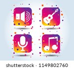 musical elements icons.... | Shutterstock .eps vector #1149802760