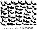 Shoes Illustration Set