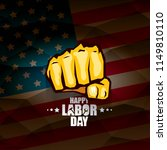 labor day usa vector label or... | Shutterstock .eps vector #1149810110