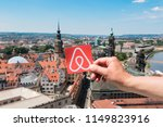 dresden  germany. june  2018.... | Shutterstock . vector #1149823916