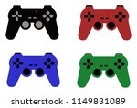 set of four video game... | Shutterstock .eps vector #1149831089