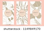 a set of packaging templates... | Shutterstock .eps vector #1149849170