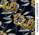 watercolor seamless pattern... | Shutterstock . vector #1149852539