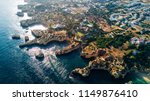 aerial view of the coast... | Shutterstock . vector #1149876410