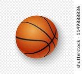 vector realistic 3d orange... | Shutterstock .eps vector #1149888836