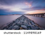 jetty and the chesapeake bay... | Shutterstock . vector #1149898169