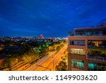 view of boston street at night  ... | Shutterstock . vector #1149903620