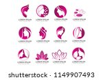 beauty and spa business signs | Shutterstock .eps vector #1149907493