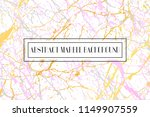 marble with golden and rose... | Shutterstock .eps vector #1149907559