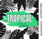 bright hawaiian design with... | Shutterstock .eps vector #1149907580