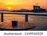 sunset of victoria harbor of...   Shutterstock . vector #1149910529