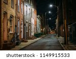 row houses at night  in fells... | Shutterstock . vector #1149915533