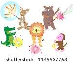summer fireworks festival of... | Shutterstock .eps vector #1149937763