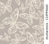 vector  seamless pattern with... | Shutterstock .eps vector #114994660