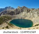 big pothole lake from kearsarge ... | Shutterstock . vector #1149951569