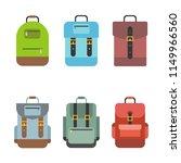 bag icon include rucksack ... | Shutterstock .eps vector #1149966560
