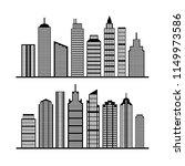 modern city skyline  city... | Shutterstock .eps vector #1149973586