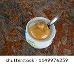 glass jar  glass lid and... | Shutterstock . vector #1149976259