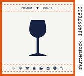 wineglass icon symbol | Shutterstock .eps vector #1149978533