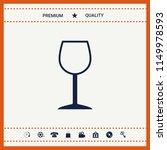 wineglass symbol icon | Shutterstock .eps vector #1149978593