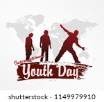 international youth day design... | Shutterstock .eps vector #1149979910