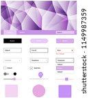 light purple vector design ui...