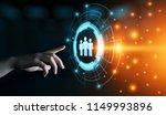 human resources hr management... | Shutterstock . vector #1149993896