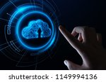 cloud computing technology... | Shutterstock . vector #1149994136