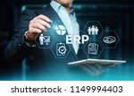 enterprise resource planning... | Shutterstock . vector #1149994403