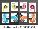 abstract vector business... | Shutterstock .eps vector #1150005560
