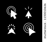 arrow cursor icons | Shutterstock .eps vector #1150010636