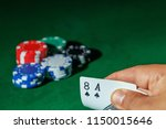 casino games concept poker... | Shutterstock . vector #1150015646