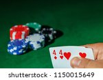 casino games concept poker... | Shutterstock . vector #1150015649