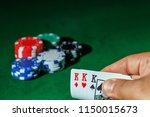 casino games concept poker... | Shutterstock . vector #1150015673