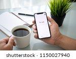 alushta  russia   july 27  2018 ... | Shutterstock . vector #1150027940