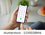 alushta  russia   july 28  2018 ... | Shutterstock . vector #1150028846