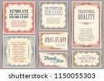 vector set for creating...   Shutterstock .eps vector #1150055303