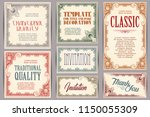 vector set for creating...   Shutterstock .eps vector #1150055309